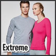 Camiseta de manga larga para vestuario laboral personalizable por serigrafía modelo Extreme