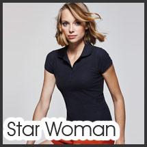 Polo para serigrafía personalizada modelo Star Mujer
