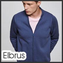 Sudadera chaqueta con cremallera personalizable por serigrafía modelo Hombre Elbrus
